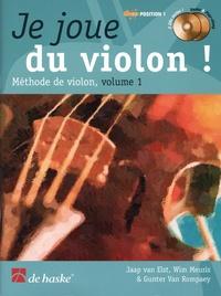 Jaap Van Elst et Wim Meuris - Je joue du violon ! - Méthode de violon 1. 2 CD audio