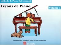 Barbara Kreader et Fred Kern - Leçons de piano - Volume 1.