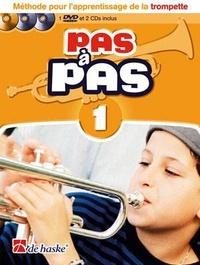 Haske Publications - Pas à pas 1 - Trompette. 1 DVD + 2 CD audio