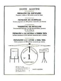 Dante Agostini - Préparation au déchiffrage - N° 1.