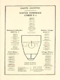 Dante Agostini - Solfège rythmique - Cahier N° 2.