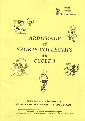 USEP - Arbitrage et sports collectifs au cycle 3.