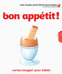 Ute Fuhr et Raoul Sautai - Bon appétit ! - Cartes-imagier pour bébés.