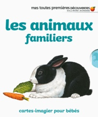 Ute Fuhr et Raoul Sautai - Les animaux familiers - cartes-imagier pour bébés.