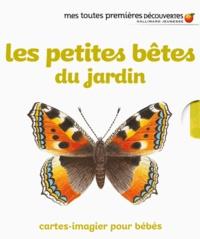 Ute Fuhr et Raoul Sautai - Les petites bêtes du jardin - Cartes-imagier pour bébés. Avec 8 cartes en mousse.