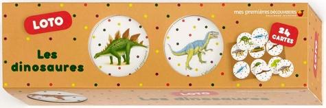 Ute Fuhr et Raoul Sautai - Loto les dinosaures - Avec 24 cartes.
