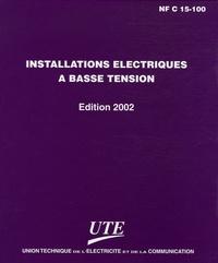 UTE - Installations électriques à basse tension - Edition 2002.
