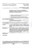 UTE - NF C 18-510 Opérations sur les ouvrages et installations électriques et dans un environnement électrique - Prévention du risque électrique.