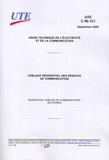 UTE - UTE C 90-483 Câblage résidentiel des réseaux de communication.