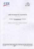 UTE - UTE C 90-483 Systèmes de câblage résidentiel des réseaux de communication.