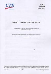 Galabria.be UTE C 90-483 Systèmes de câblage résidentiel des réseaux de communication Image