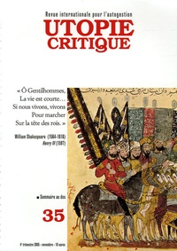 Gilbert Marquis et Tony Andréani - Utopie Critique N° 35, Novembre 2005 : .