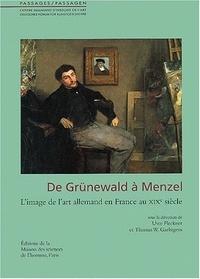 Deedr.fr De Grünewald à Menzel - L'image de l'art allemand en France au XIXe siècle Image