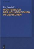 Uwe Quasthoff - Wörterbuch Der Kollokationen Im Deutschen.