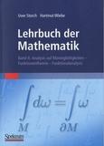 Uwe Storch et Hartmut Wiebe - Lehrbuch der Mathematik - Band 4 : Analysis auf Mannigfaltigkeiten - Funktionentheorie - Funktionalanalysis.
