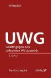 UWG - Gesetz gegen den unlauteren Wettbewerb.