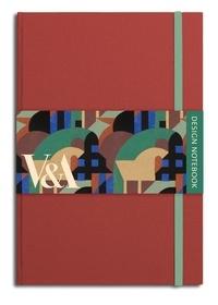 V&A publications - V&A design notebook - Albertopolis red.