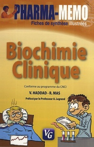 V. Haddad et R Mas - Biochimie clinique.