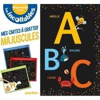 Vaïnui de Castelbajac - Majuscules - Mes cartes à gratter éducatives Les incollables Maternelle. Avec 1 bâtonnet en bois.