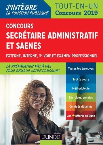 Concours Secrétaire administratif et SAENES - Valentin Sartre - Format PDF - 9782100790128 - 16,99 €