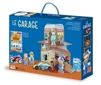 Valentina Bonaguro - Le garage - 4 garages 2 étages, 4 personnages, 3 accessoires, 1 livre.