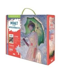 Valentina Bonaguro et Nadia Fabris - Monet et les impressionnistes - Avec 1 puzzle de 300 pièces.