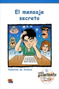 Valentina de Antonio Dominguez - El mensaje secreto. 1 CD audio