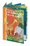 Valentina Manuzzato - Livre pop-up à 360° - Les aninaux de la planète.