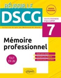 Valentine Erné-Heintz et Grégory Lakhlef - Mémoire professionnel DSCG 7 - Tout en un.