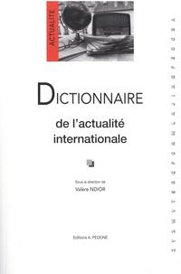 Valère Ndior - Dictionnaire de l'actualité internationale.