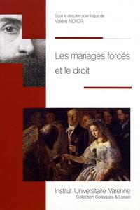 Valère Ndior - Les mariages forcés et le droit.