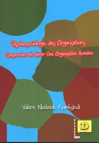 Valère Nkelzok Komtsindi - Psychosociologie des organisations - Comprendre et gérer une organisation humaine.