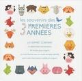 Valeria Manferto de Fabianis - Les souvenirs des 3 premières années (garçon) - Le coffret contient : un album pour vos souvenirs, 40 feuilles pour origami, un livret illustré avec un mode d'emploi détaillé pour créer d'amusants mobiles en origami.