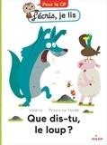 Valéria et Prisca Le Tandé - Que dis-tu, le loup ?.