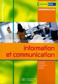 Valérie Alléguède et Carine Courtès-Lapeyrat - Information et communication 1e STG.
