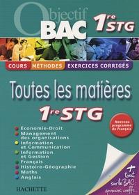 Valérie Alléguède et Brigitte Lallement - Toutes les matières 1e STG.