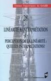 Valérie Amary et Emmanuelle Roussel - Linéarité & interprétation - Volume 1, Perception de la linéarité : quelles interprétations ?.