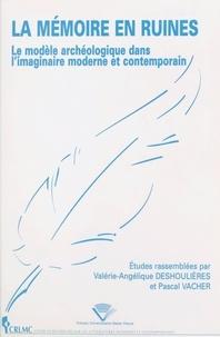 Valérie-Angélique Deshoulieres et Pascal Vacher - .