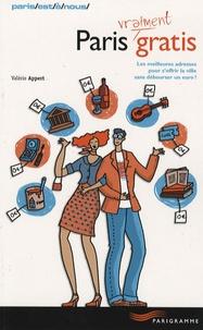 Valérie Appert - Paris (vraiment) gratis.