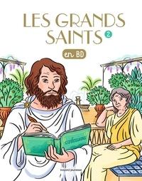 Valérie Armand et Marie-Sophie Boulanger - Les grands saints en BD.