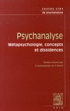 Valérie Aucouturier et Françoise Parot - Psychanalyse - Métapsychologie, concepts et dissidences.