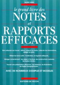 Deedr.fr Le grand livre des notes et rapports efficaces Image