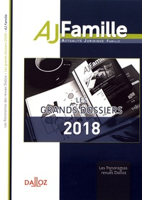 Valérie Avena-Robardet - Les grands dossiers 2018 de l'AJ Famille.
