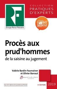 Valérie Bardin-Fournairon et Olivier Barraut - Procès aux prud'hommes - De la saisine au jugement.