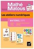 Valérie Barry-Soavi et Christine Bonnieu - Les ateliers numériques MS-GS et ASH Mathé-matous - Matériel 100 cartes.