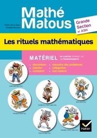 Valérie Barry-Soavi et Christine Bonnieu - Les rituels mathématiques Grande Section et ASH - Matériel 96 cartes (format A4) + 16 transparents.