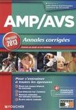 Valérie Béal - AMP/AVS - Annales corrigées, concours 2013.