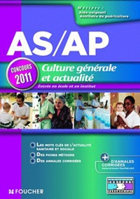 Valérie Béal et Marie Péan - AS/AP Concours 2011 - Culture générale et actualité.