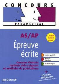 Histoiresdenlire.be AS/AP Epreuve écrite - Concours d'entrée, Instituts aide-soignant et auxiliaire de puériculture Image