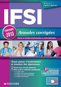IFSI, Annales corrigées - Concours 2013.pdf